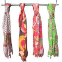 Kantha Silk Scarves