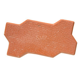 Red Unipaver Tile Moulds