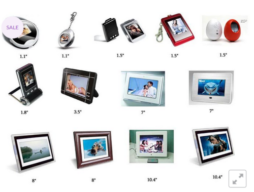 Digital Photo Frame, Photo Frames & Picture Frames | GSM Impex in T ...