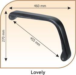Lovely Shaped Chair Handle