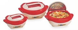 Fluidic Hot Pot Set of 3 Pcs
