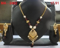 Light Kundan Designer Set