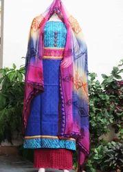 Cotton Designer Salwar Suit Set
