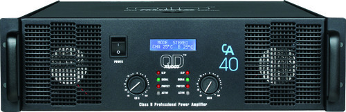 QD Audio CA 40 Power Amplifier - View Specifications