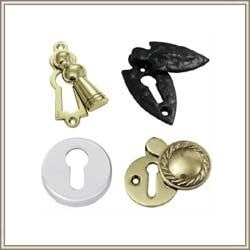 Brass Finished Door Escutcheons, For Home, Packaging Size: > 100 Pieces