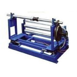 Unwinder Frame with Mechanical Brake