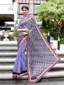 Purple Fancy Saree