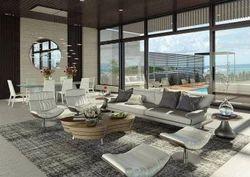 Wooden White Interior Designing Consultant