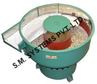 Vibratory Finishing Series Machine with Separation