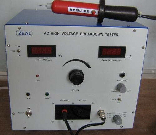 high voltage breakdown testers dielectric strength tester zeal rh indiamart com
