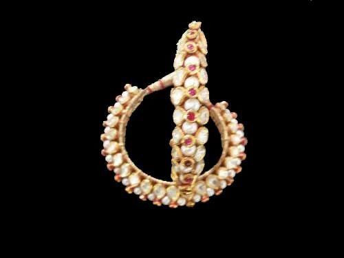 a446ef8cb6799 Kundan Meena Gold with Diamond Bangle - Surana Gems & Jewels, Jaipur ...