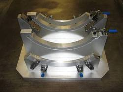 Aluminium Drilling CNC Machine Fixture, For VMC
