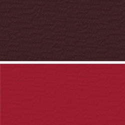 Maroon Colored Artificial Leather Cloth