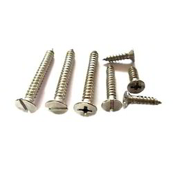 Slotted and Phillips Flat Countersunk Head Tapping Screw