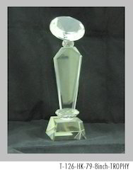 8 Inch Crystal Trophies