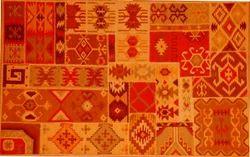 Printed Patchwork Rugs