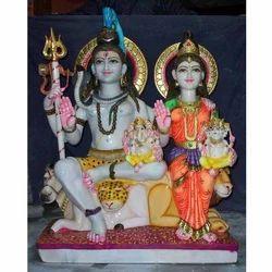 Gauri Shanker Marble Statue