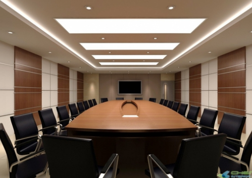 Commercial Interior Design Service Conference Room
