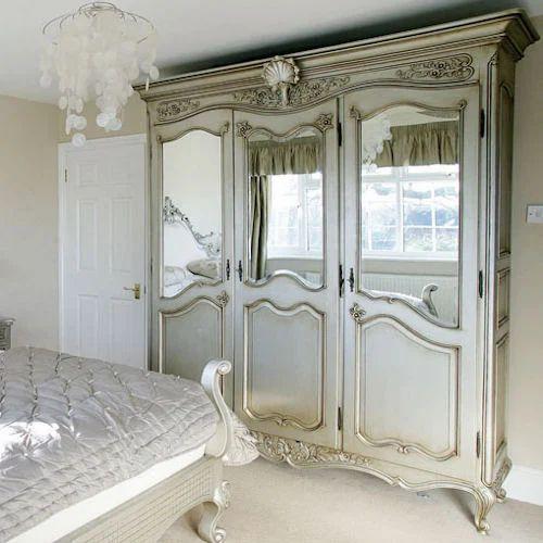 Versailles Wooden Wardrobe