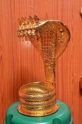 Gold Plated 24 Karat Pure Gold Nagabaranam