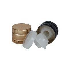 Round Screw Cap Olive Oil Aluminum Caps, Packaging Size: 1 litre, Dimensions: 31.5x 24mm