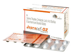 Cefixime 200mg Orndiazole 500mg LB 120 Million Spores