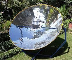 Solar Cooking Equipments Parabolic Solar Cooker