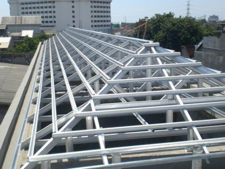 Mild Steel Roofing Structure Roofing Structure
