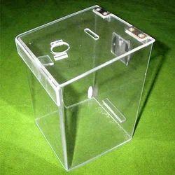 Slanted Drop Box