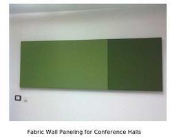 Fabric Wall Paneling for Conference Halls