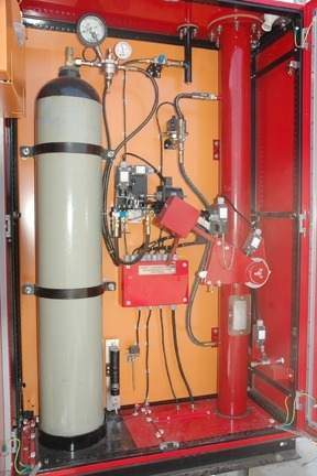 Fire And Safety Transformer Nitrogen Injection