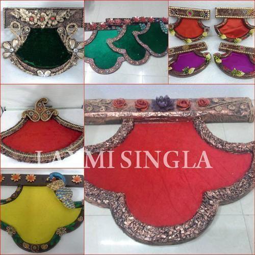 Indian Wedding Paper Mache Trays Paper Mache Manufacturer From Delhi