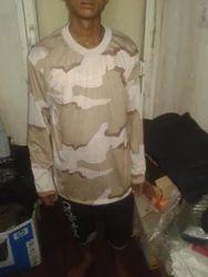 Military Full Sleeve T Shirt