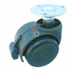 Plate Brake Castor Wheel