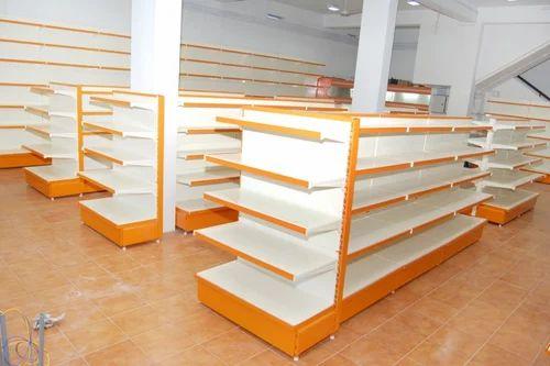 Supermarket Gondola Unit, Vin Supermarket Shelves | Peenya