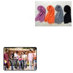 Solid Colour Scarves for Collage