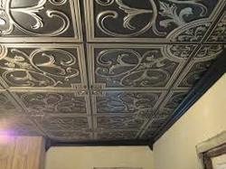 wall in arts tiles metal tile museum ceiling dimensions historical x intended tin art ceilings for