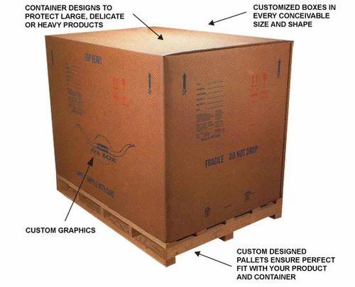 Export Eco-friendly Packaging Box, Heavy Duty Box, Industrial Corrugated Box, Heavy Duty Corrugated Box, Industrial Packaging Boxes, Industrial Packing Boxes in Nizampura, Vadodara , Packaid Solutions Pvt. Ltd. ID: 7524646991