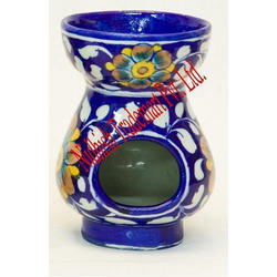 Blue Pottery Oil Burner