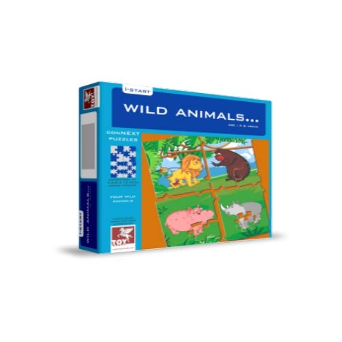 Connect Puzzles-Wild Animals, Puzzles, Board & Educational Games