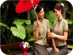 Spa uniforms latest health and beauty uniforms for Uniform thai spa