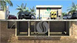 Underground Sewage Treatment Plant for Farm Houses