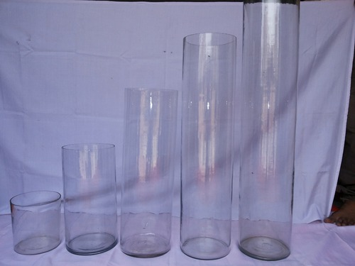 Cylinder Event Glass Vase Glass Vase Narol Ahmedabad Sona