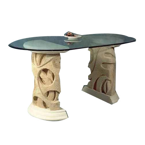 Marble Glass Table