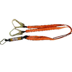 Metro Webbing Forked Lanyards With Energy Absorber