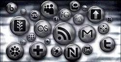 Silver Metalic Media