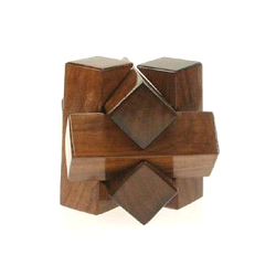Brown Wooden Puzzle
