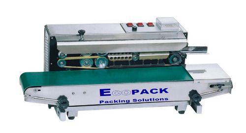 Ecopack Horizontal Continuous Band Sealer Machine, 220 V, Model: 900 L