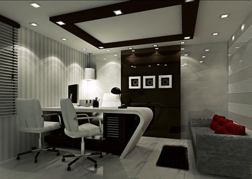 Interior for office room for Modern office room interior design