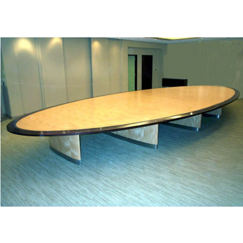 Elliptical Conference Table Rastogi Segma Furnitech Private - Elliptical conference table